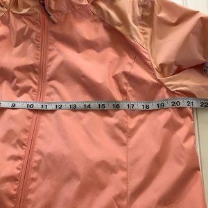 NEW Women/'s Breckenridge Peach Full Zipper Windbreaker Jacket Size XL 16